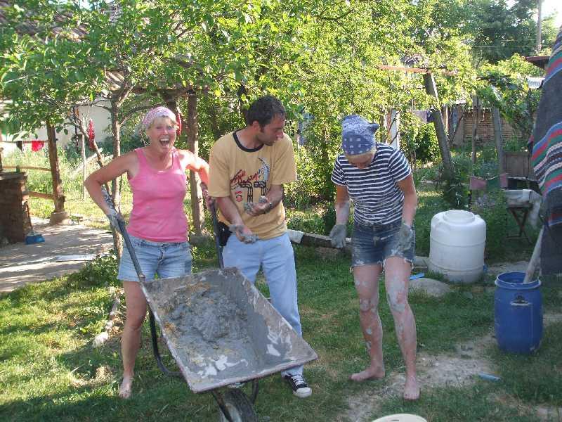 mud plastering