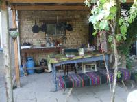 a tidy outside kitchen may 09