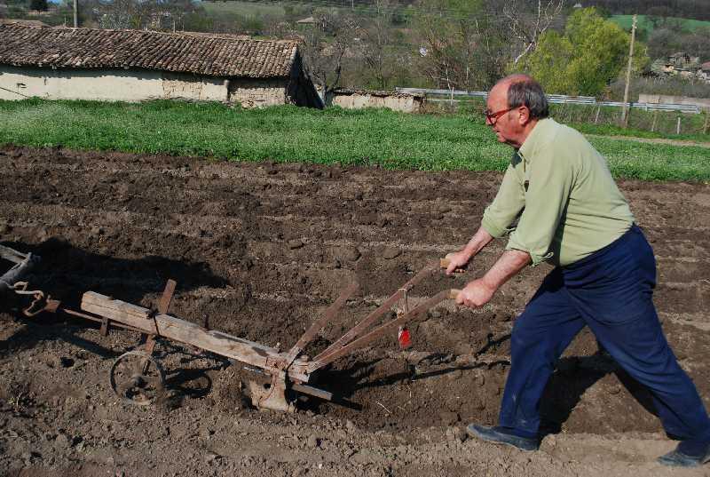 Jorge ploughing