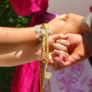 Alex and Faye's wedding