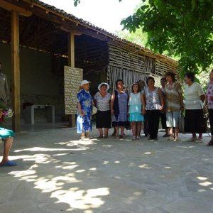 The Pensioner's Choir singing at Alex's wedding